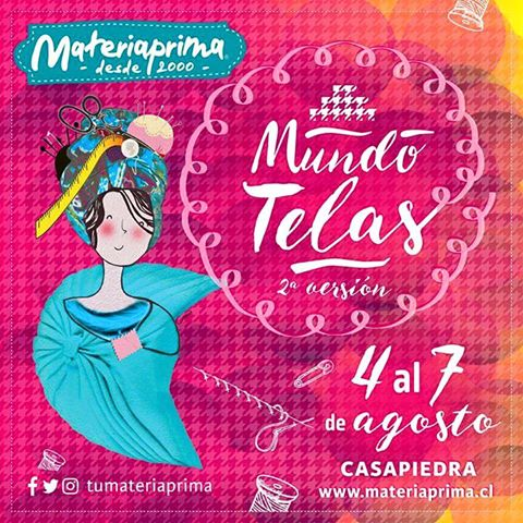 #MundoTelas en el centro de eventos Casa Piedra #Santiago