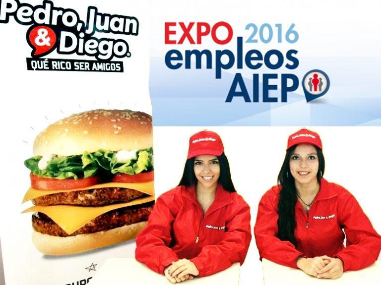 Expo Empleos AIEP – Junto a Pedro, Juan & Diego