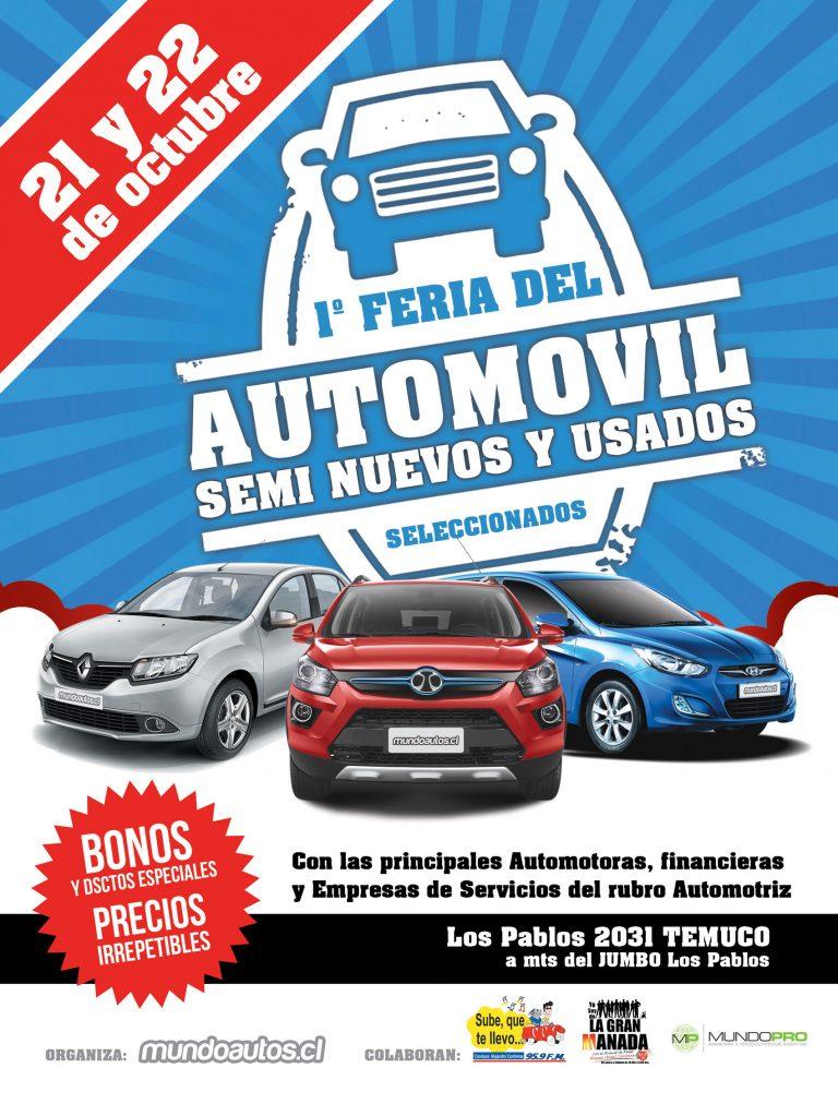 Feria del automóvil Temuco
